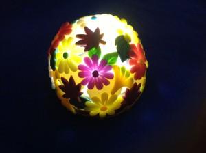 秋の草花ランプ