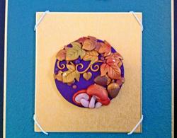 樹脂粘土で作る季節の飾り