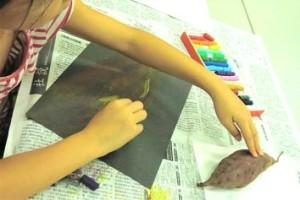 絵本で育むキッズアート