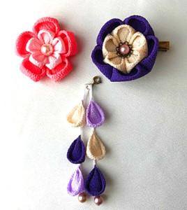 日本の伝統工芸「つまみ細工」