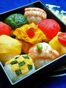 飾り巻き寿司10月edit