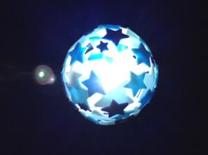 親子で作ろう星のランプシェード