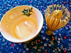 季節の花とお茶のおもてなし