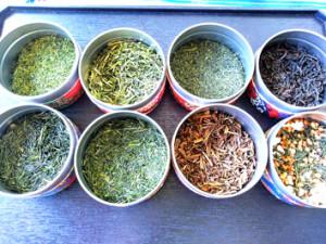 日本茶の種類